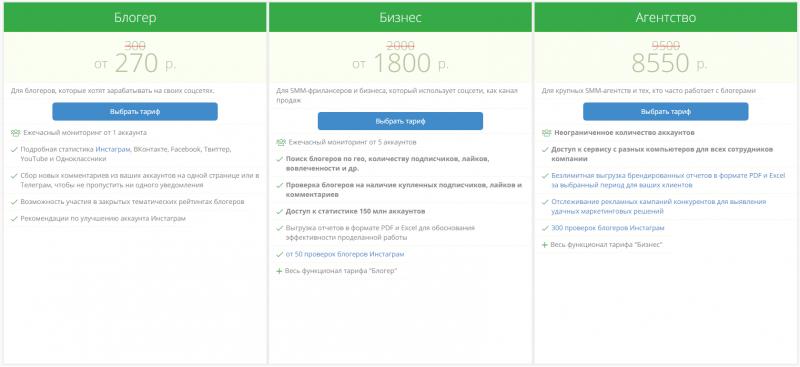 Цены подписки на услуги LiveDunePro
