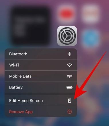 редактирование домашнего экрана на айфон