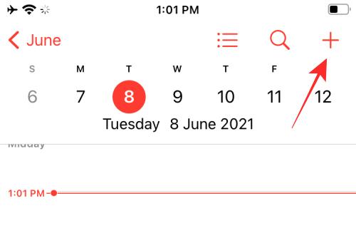 Создание ссылки FaceTime в календаре