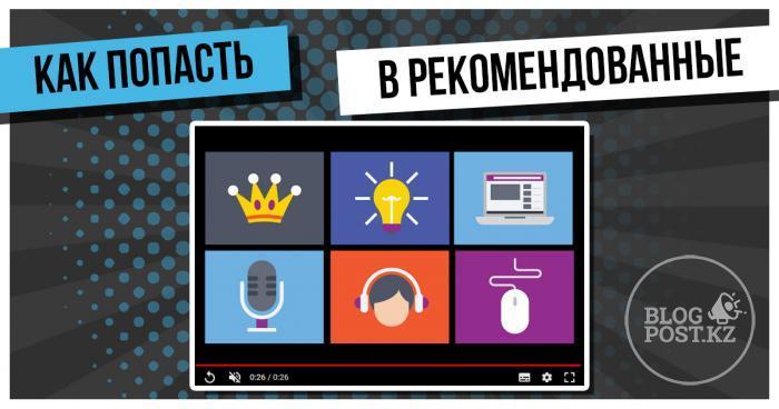 Как сделать так, чтобы Ваши видеоролики попали в похожие и рекомендованные на Ютуб