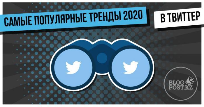 Твиттер опубликовал рейтинг самых популярных трендов за 2020 год